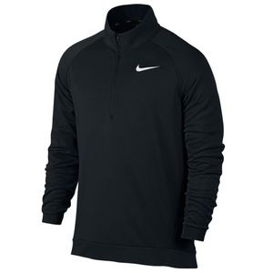 Mens Nike Fleece Long Sleeve Quarter Zip Jacket